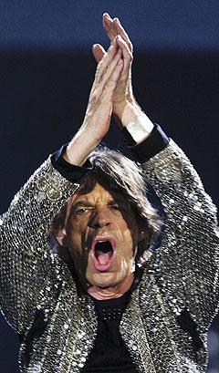Mick Jagger og Rolling Stones er trolig svært fornøyde med å få være første band ut på nye Wembley. Foto: Frank Gunn, AP Photo / Scanpix.