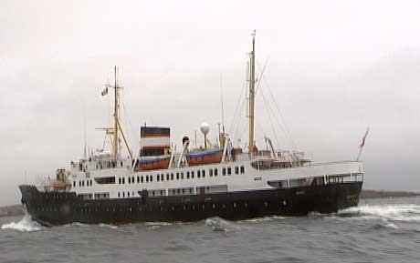 MS Nordstjernen (Foto: NRK)