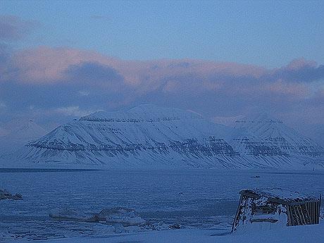 Mer slående Svalbard-natur. Foto Andreas Toft.