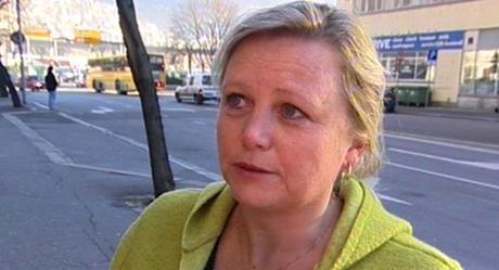 Byråd for byutvikling, Lisbeth Iversen. Foto: NRK.