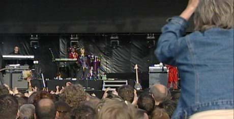 David Bowie på Koengen i 2004. Foto: NRK.