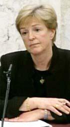 Marianne Elvander fra det svenske veterinærinstituttet. (Foto: SvT)