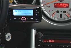 DAB- radio til bilen kan flyttes...Foto: NRK/FBI