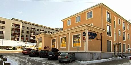 Prix-butikken som ble ranet mandag. Foto: Jo Hjelle/NRK.