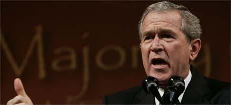President George W. Bush (foto: AP/Scanpix).