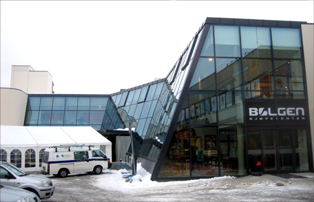 Bølgen kjøpesenter skal stoppe handelslekkasje til Molde. Foto: Gunnar Sandvik