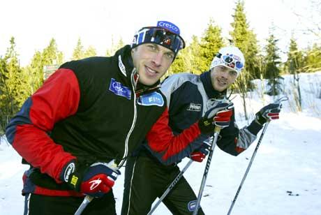 Anders (til venstre) og Jørgen Aukland. (Foto: Terje Bendiksby / SCANPIX )