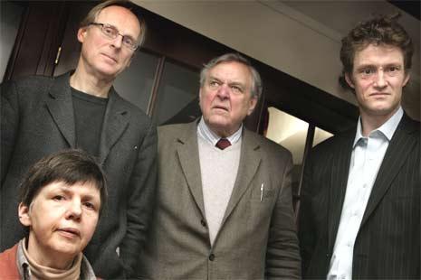 Øverst fra v. Espen Søbye, Johannes Gjerdåker og Thure Erik Lund og Marianne Havdal. (Foto: Berit Roald/Scanpix)