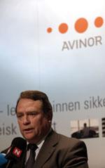 Avinor-styreleder Anders Talleraas. Foto: Jarl Fr. Erichsen / SCANPIX