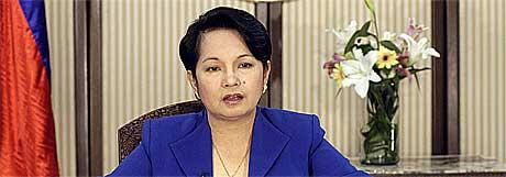 Filippinenes president Gloria Arroyo.(Foto:Reuters/Scanpix)