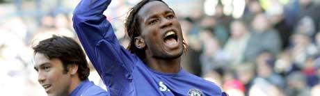Didier Drogba storspilte for Chelsea. (Foto: AFP/ SCANPIX)