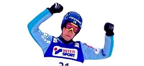 Janne Happonen vant i Lahti. (foto: NRK)