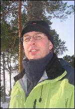 Biologisk fylkesskogmeister John Hauger. Foto: Gunnar Sandvik.