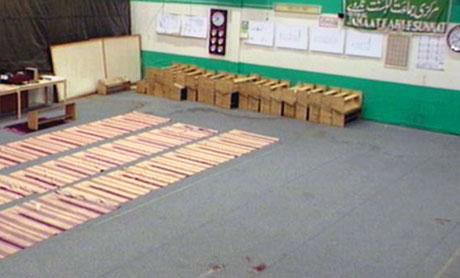 Her ble moskéen angrepet under kveldsbønnen fredag. Foto: NRK