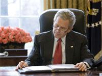 Få amerikanere tror president George W. Bush har en klar plan for Irak. (Foto: Eric Draper/Det hvite hus/AFP/Scanpix)