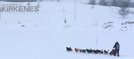 FARVEL, KIRKENES: Roger Dahl ser fram til møkkaværet. Foto: Jenny Duesund