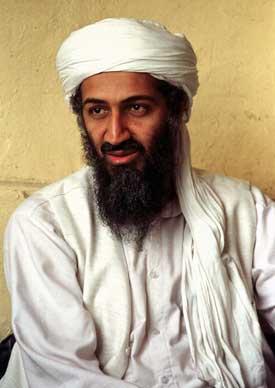 På minussiden: Osama bin Laden er fortsatt på frifot. Foto: Scanpix/AP.