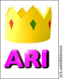 Ari Behn har designet monogrammet sitt selv. (Alltid Moro)