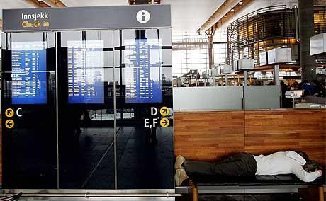 DEL AV AVINOR: Oslo Lufthavn eies av Avinor og bidrar med plusstall i regnskapet. Foto: Håkon Mosvold Larsen/Scanpix.