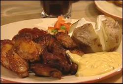 Jeanettes fristende men farlig fete middag. Foto: NRK, Puls