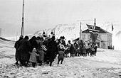 Longyearbyen rundt 1920 Foto:Store Norske Arkiv/Scanpix)