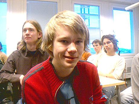 Jørgen Vold Rennemo (17) fra Lillehammer vant Niels Henrik Abels matematikkonkurranse for andre år på rad. Foto: Øyvind Wik, NRK