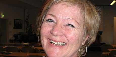 May Britt Lunde, nyvalgt fylkesleder i Aust-Agder Arbeiderparti (foto: Knut Knudsen Eigeland)