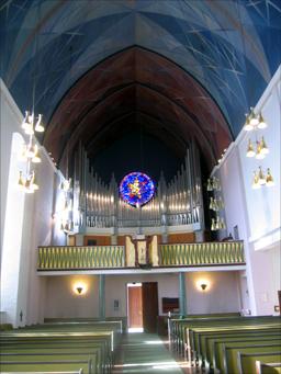 Det nye orgelet aktualiserte freding av Molde domkirke. Foto: Gunnar Sandvik
