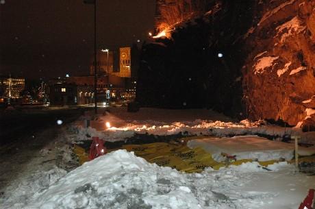 Minnesmerket etter Scandinavian Star-ulykken skal stå her, på kaia i Oslo