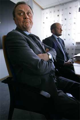 Fellesforbundets leder Kjell Bjørndalen er ikke fornøyd med tilbudet fra Stein Lier-Hansen i Norsk Industri. (Arkivfoto: Heiko Junge/Scanpix)