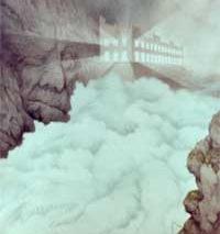 Kittelsens skildring av Telemarksfossens utbygging (alle bilder: promo)