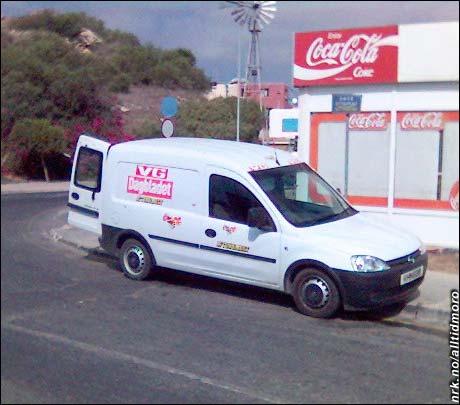 Et ekte bilde fra Kypros: Her har man dratt samarbeidet enda et hakk lenger. (Foto: Bjørn Foss Gravingen)
