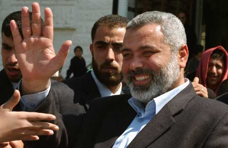 Ismail Hanyia er tiltenkt rollen som statsminister (Scanpix/AP)