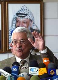 VIL IKKKE: Mahmoud Abbas. Foto: AFP/Scanpix.