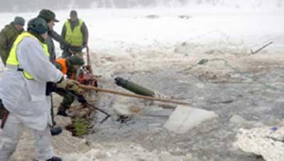 Redningsarbeid etter ulykken ved Bjerkvik