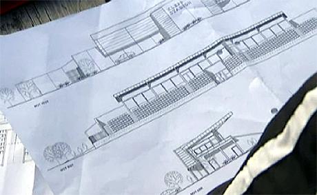 Tegningene er klare for ny tribune og nye garderober (Foto: NRK)