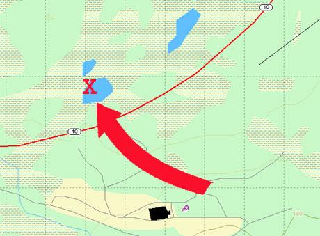 Bergvatnan er navnet på flere store og små vann i dette området. I følge avisen Fremover er dette ulykkesstedet.