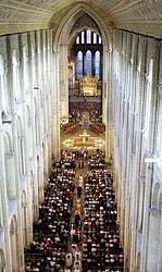 Et parti innenfra den majestetiske katedralen i Ely. Foto Scanpix.