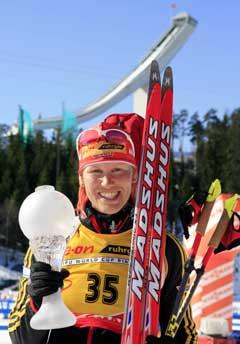 Kati Wilhelm vil beholde poengsystemet. (Foto: AFP/Scanpix)