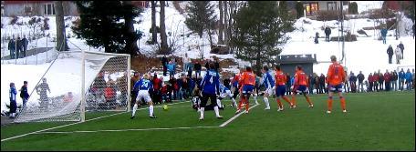 Madiou Konate stal showet og var sist på ballen som ga sluttresultat 2-1 til Molde. Foto: Gunnar Sandvik