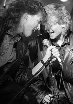 Creation under Rocke-gilde i Horten desember 1986. Foto: Arve Schaug.