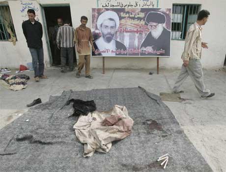 Mustafa-moskeen i Bagdad (Reuters/Scanpix)