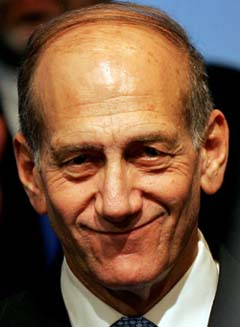 Israels statsminister Ehud Olmert. (Foto: G. Tomasevic/Reuters/Scanpix)