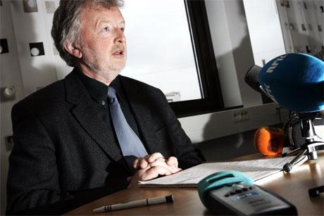 Riksmeklingsmann Svein Longva håper på løsning i industrimeklingen. (Foto: Tor Richardsen/Scanpix)