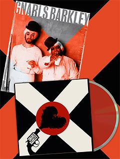 Gnarls Barkley-plata er ennå ikke i salg, men topper listene likevel. Foto: www.gnarlsbarkley.com.
