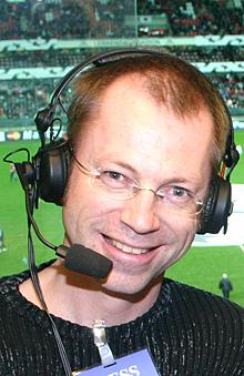Bilde: P1-lytterne er vant til å få et godt fotballtilbud, i år blir det enda bedre. Arve Fuglum er førstemann på Radiosportens sterke fotballag. (Foto: Jon-Annar Fordal)