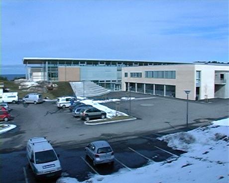 Atlanten ungdomsskole. Foto: Roar Strøm, NRK Møre og Romsdal