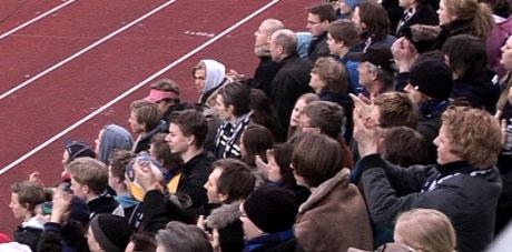 Hjemmepublikum på Nadderud har store forventninger til Stabæk foran årets sesong, og kanskje spesielt til fjorårets toppscorer Daniel Nannskog. Foto: NRK
