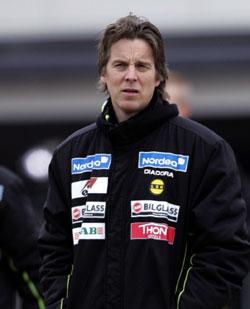 Manager Jan Åge Fjørtoft regner med at Lillestrøm skal være med å kjempe i toppen i år. Foto: Stian Lysberg Solum, Scanpix
