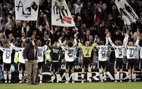 Karl Petter Løken tror på mye Rosenborg-jubel i år. (Foto: Tor Richardsen / SCANPIX)